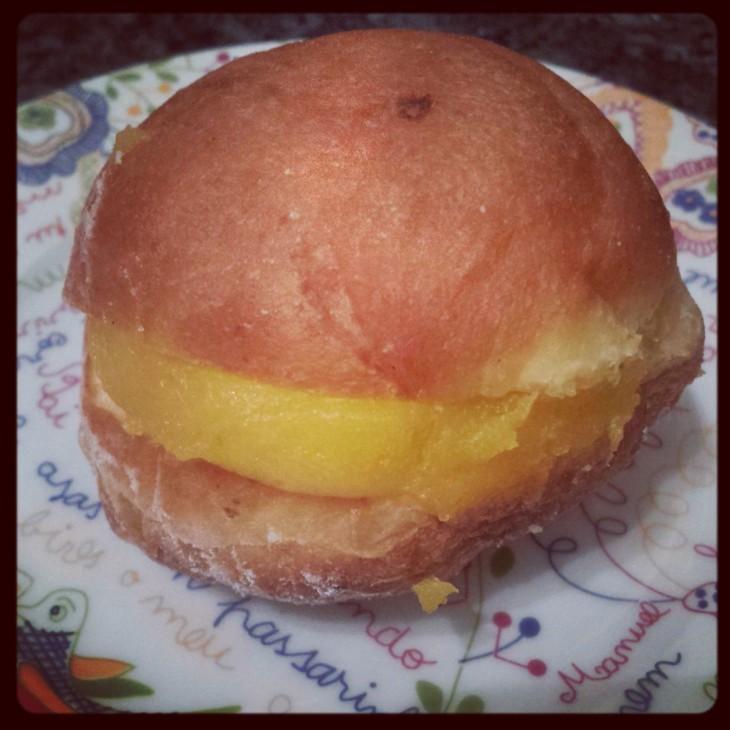 Custard Donuts - Bola de Berlim